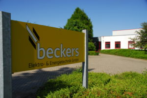Elektrotechnik & Energietechnik der Firma beckers GmbH